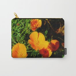Golden Poppy Carry-All Pouch