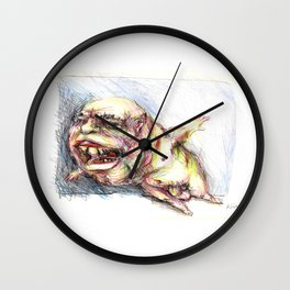 Pervy Wall Clock