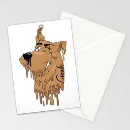 Melting Scooby Stationery Cards