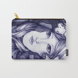 Lay Me  Down To Rest, Under Water's Calming Breath  Carry-All Pouch