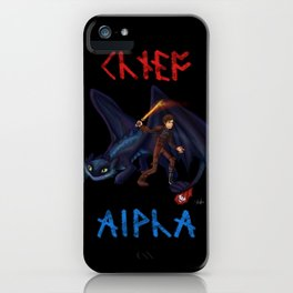 Chief and Alpha iPhone Case
