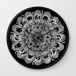 Metal Mandala Wall Clock