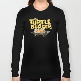 Burgerweek #3 The Turtleburger Long Sleeve T-shirt