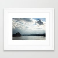 budapest Framed Art Prints featuring Budapest by Daniel Fornies