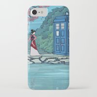 hallion iPhone & iPod Cases featuring Cannot Hide Who I am Inside by Karen Hallion Illustrations