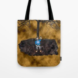 Book Cover Illustration Tote Bag