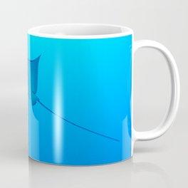 Smiling Eagle Ray Coffee Mug