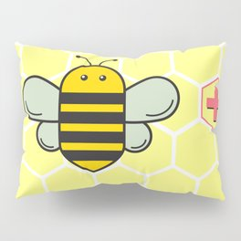 Bee Positive! Pillow Sham