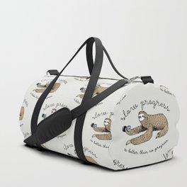 Slow progress Duffle Bag