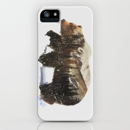 Arctic Grizzly Bear iPhone Case