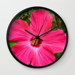 Mia's flower Wall Clock