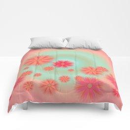 Happy daisies Comforters