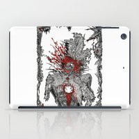 mad hatter iPad Cases featuring Mad Hatter by Mongolizer