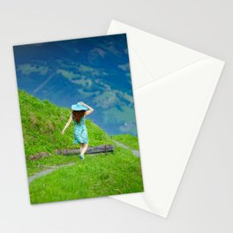 Happy moments in Austria Stationery Cards