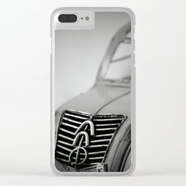 Flying Dustbin Clear iPhone Case