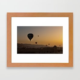 Floating Above the Ancients Framed Art Print