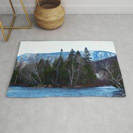 Blue Mountain River Rug