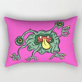 Alien Wiggle Monster - Flu Germ Rectangular Pillow