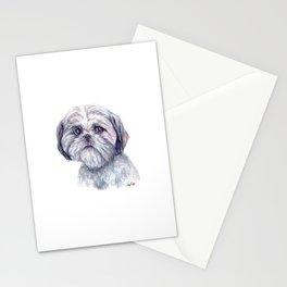 Shih Tzu - Dog Portrait Stationery Cards