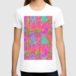 Sherbet Faux Fur T-shirt