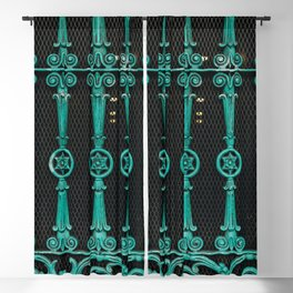 New Orleans Patina Blackout Curtain