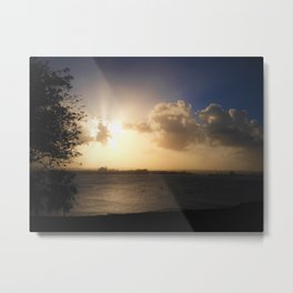 Dark Sunset Metal Print