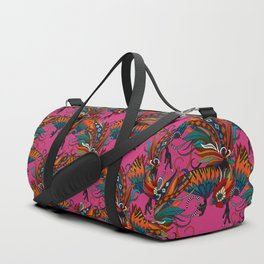 rooster ink pink Duffle Bag