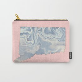Connecticut map Carry-All Pouch