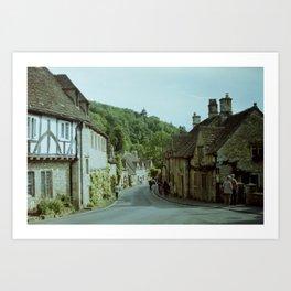 Castle Combe Art Print