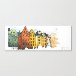 Stortoget Stockholm Canvas Print