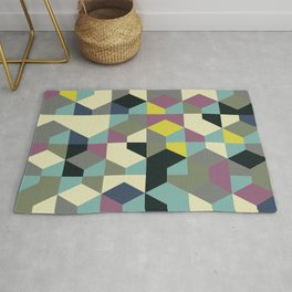 Abstract Geometric Artwork 53 Rug