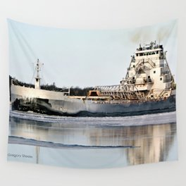 Great Republic Freighter Wall Tapestry