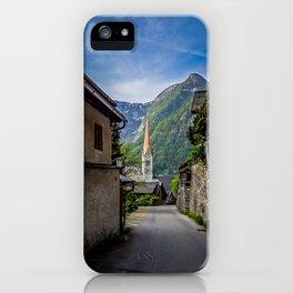 Streets of Hallstatt iPhone Case