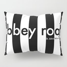 Abbey Road, St Johns Wood, London, NW8, Travel Poster Pillow Sham