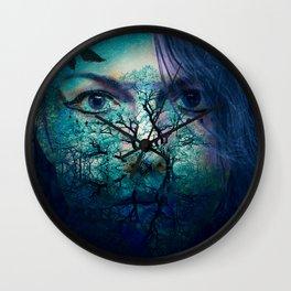Diana-Goddess of nature Wall Clock