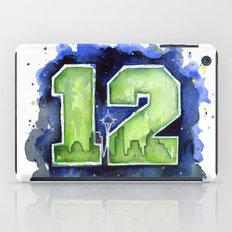 12th Man Seahawks Seattle Go Hawks Art iPad Case