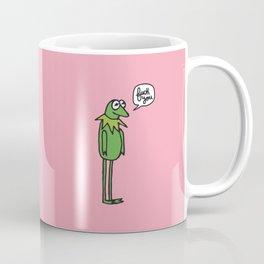 A Frog's mood Coffee Mug
