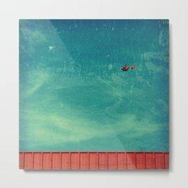 red carpet in the sky Metal Print