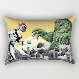 Kaiju Battle Rectangular Pillow
