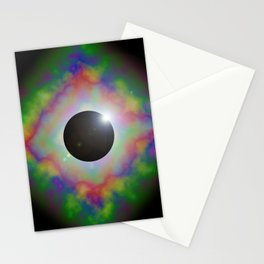 Eclipsed Eye Stationery Cards