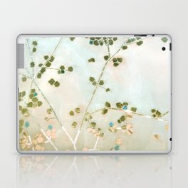mosaica glitterati in blue + gold Laptop & iPad Skin