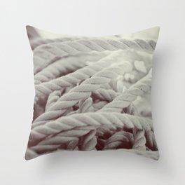 Sailing Rope Throw Pillow