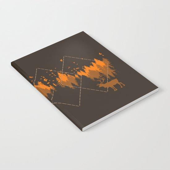 Tradicional Nature Pattern Notebook