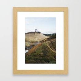 Cape Kiwanda, OR Framed Art Print