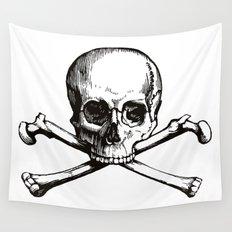 Skull and Crossbones | Jolly Roger Wall Tapestry