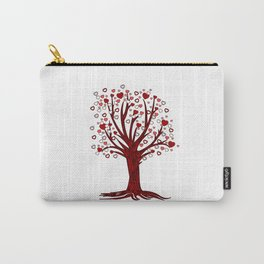 Heart Tree (2) Carry-All Pouch