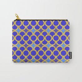 Blue Gold Scales Carry-All Pouch