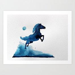 Equus ferus caballus Art Print