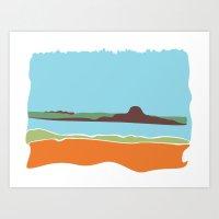 Landscape Tres Art Print