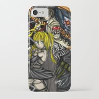 death note iPhone & iPod Cases featuring Death Note by SpontaneousOD